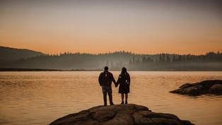 Shaver Lake Engagement Session