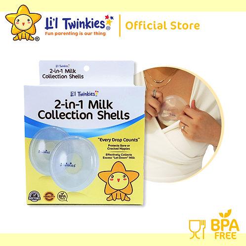 Li'l Twinkies 2-in-1 Milk Collection Shells, 1 pair