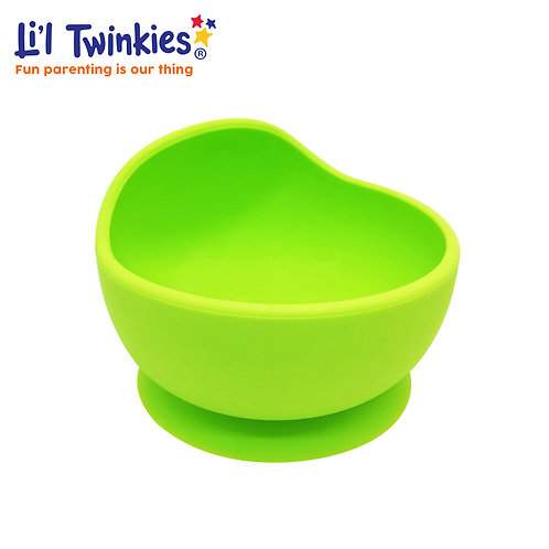 Silicone Weaning Bowl, Green