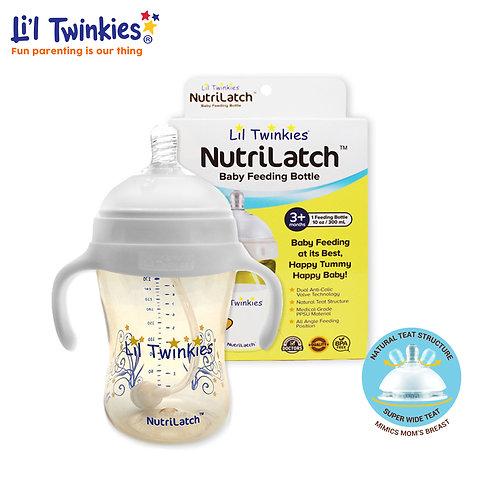NutriLatch™ PPSU Feeding Bottle, 300ml, 3M+