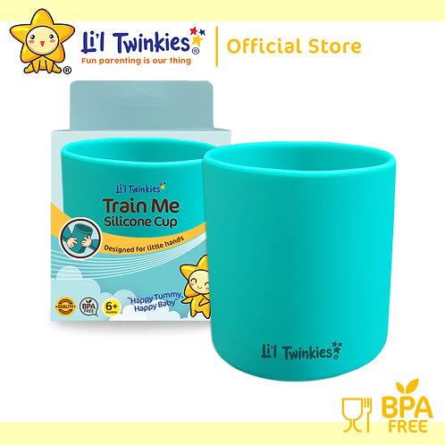 Li'l Twinkies Train Me™ Silicone Cup, Teal