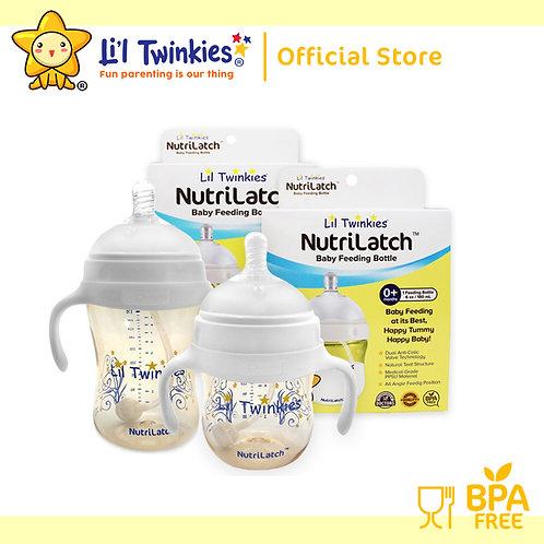 NutriLatch™ PPSU Feeding Bottle 300ml & 180ml Special Bundle