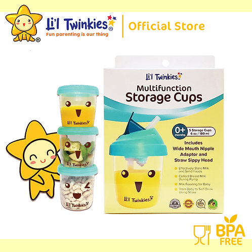 Li'l Twinkies Multifunction Storage Cups Set