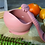 Thumbnail: Li'l Twinkies Silicone Weaning Bowl with Suction Bottom, Vintage Rose