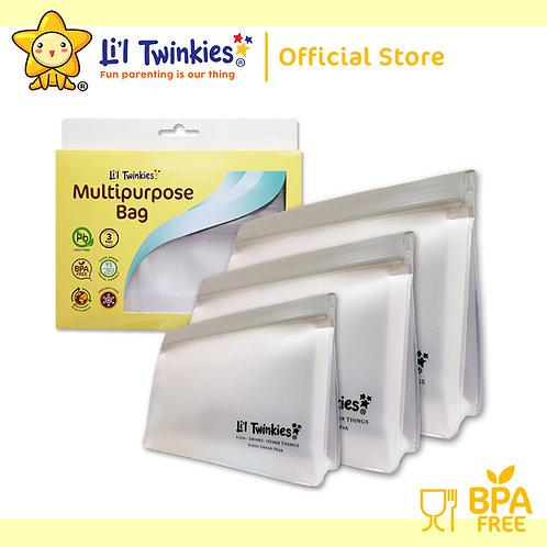 Li'l Twinkies Multipurpose Reusable Storage Bag 3's
