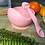 Thumbnail: Li'l Twinkies Silicone Weaning Bowl with Suction Bottom, Blush Pink