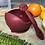 Thumbnail: Li'l Twinkies Silicone Weaning Bowl with Suction Bottom, Burgundy