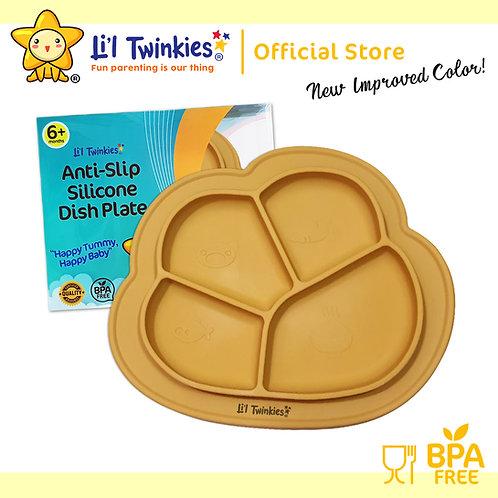 Li'l Twinkies Anti-Slip Silicone Dish Plate, Butterscotch