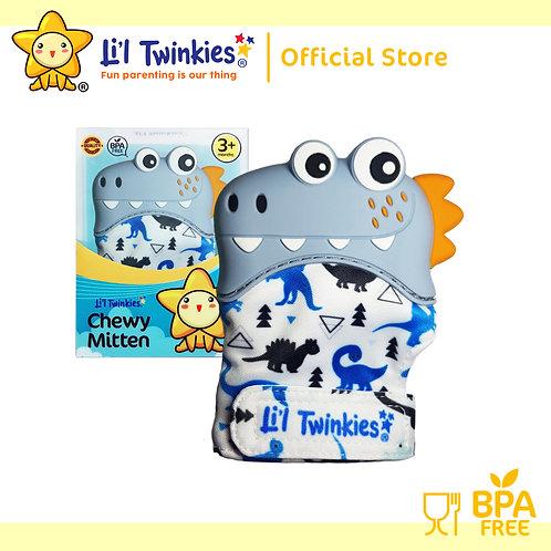 Li'l Twinkies Chewy Mitten Teether, Dino