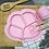 Thumbnail: Li'l Twinkies Train Me Spoon and Fork Set, Blush Pink