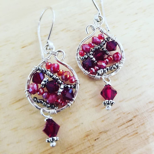 Stained Glass Earring Kit w/ Instructions