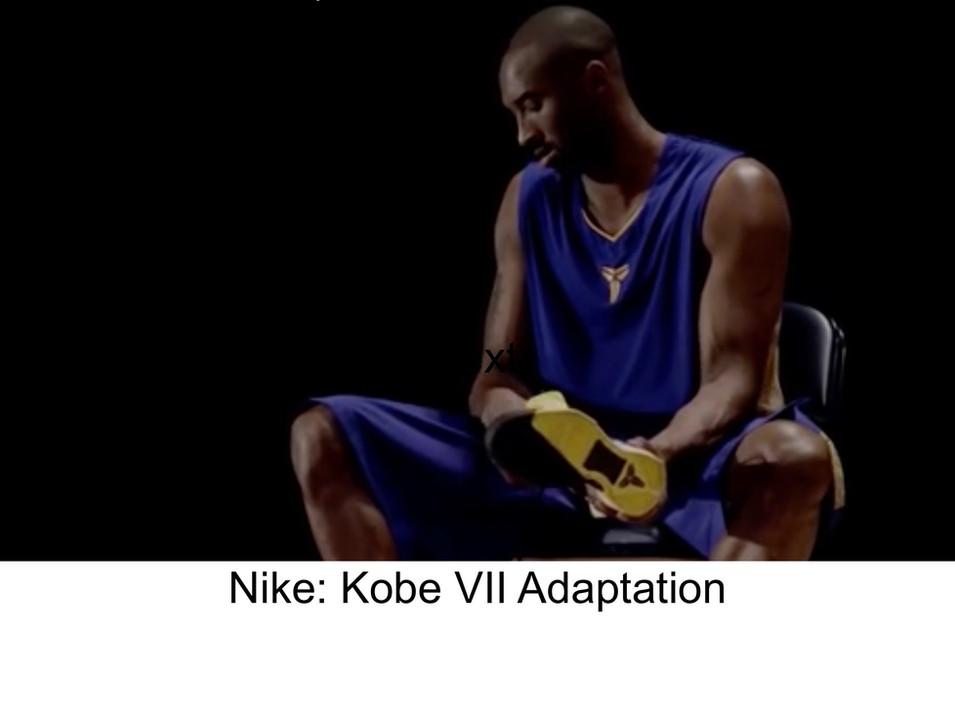 Nike: Kobe VII Adaptation