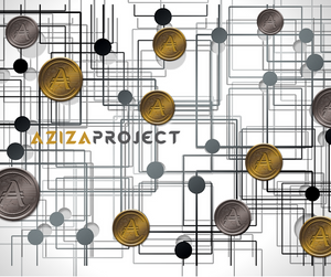 aziza coin asset backed security token investment ico cryptocurrency blockchain