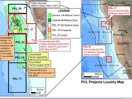 British Oil & Gas Explorer Tullow Oil  Commences Namibia Offshore Drilling Programme