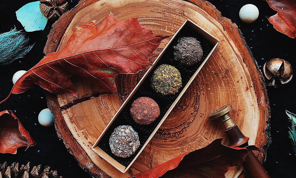 Набор  из 4  конфет ручной работы