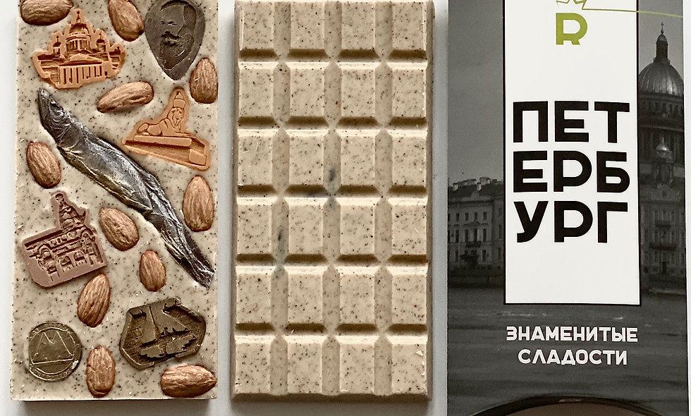 Шоколадная плитка «Петербург»