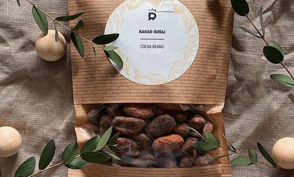 Какао-бобы (обжаренные)