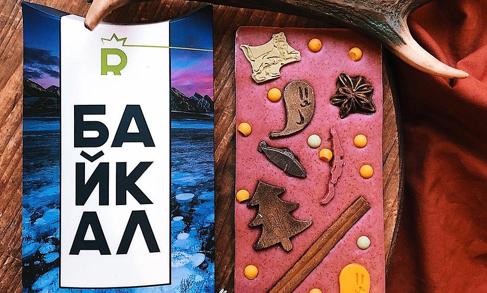 Шоколадная плитка «Байкал»
