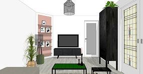 Appartement Amsterdam aanzicht tv_edited