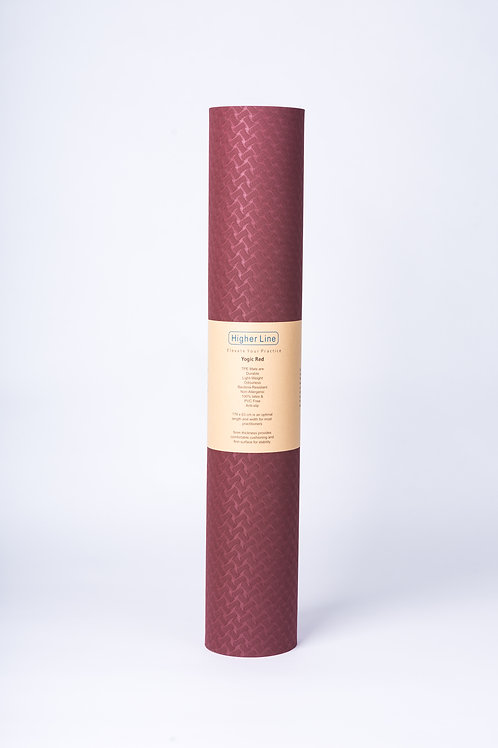 Yogic Red Mat