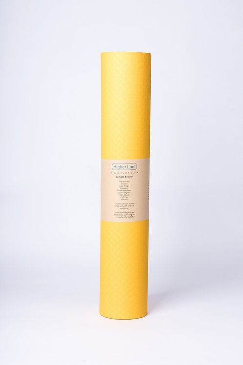 Temple Yellow Mat