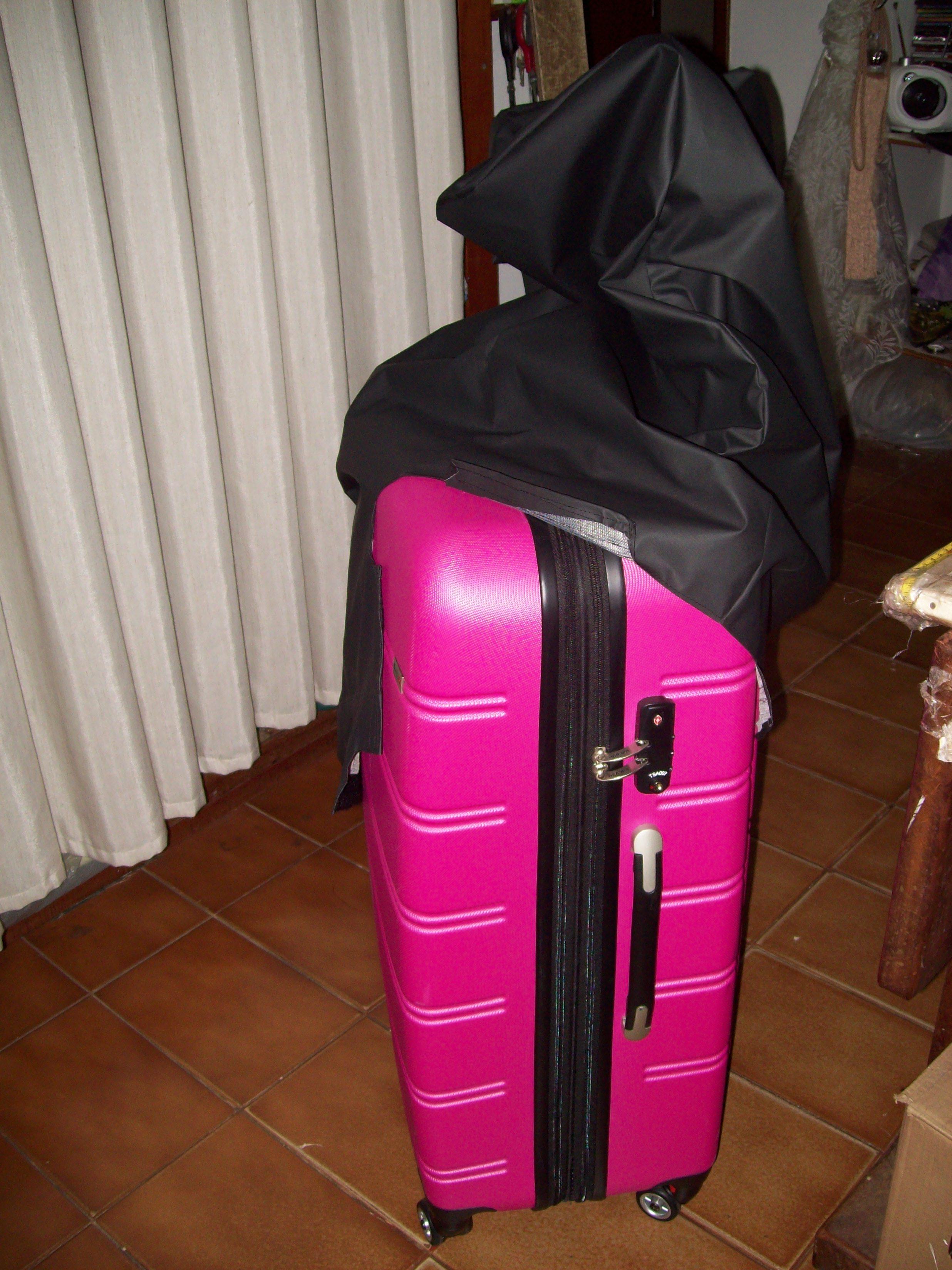 Capa para maleta de viagem