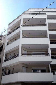 Apartment Building-Lykabettus-Athens, Greece