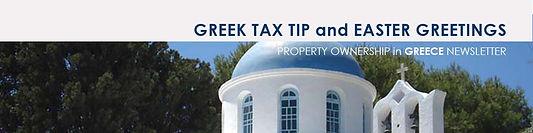 Greek Property Newsletter - April '15