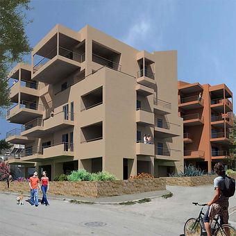 Apartment Building Complex - Athens Greece