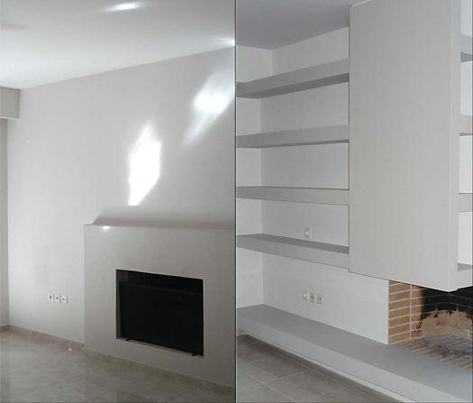 Apartment renovation-room makeover, Athens Greece