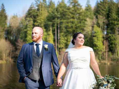 The Wedding of Holly & Tomos @ Canada Lodge & Lake