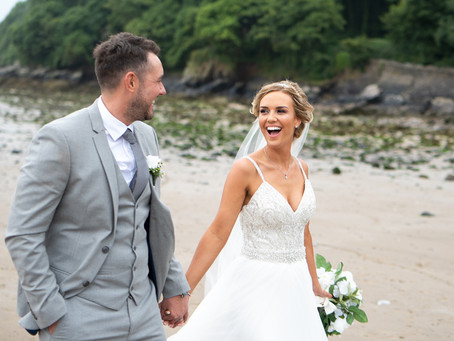 The Wedding of Rosy & Chris @ Oxwich Bay Hotel