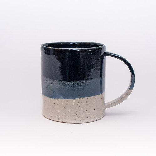 Mug - blue and white