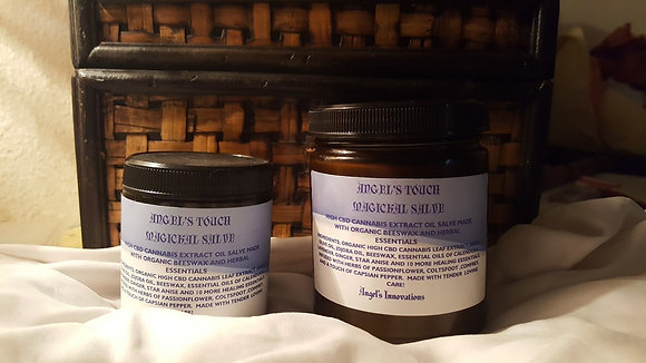 ANGELS TOUCH MAGICKAL HIGH CBD PAIN SALVE 4  OZ