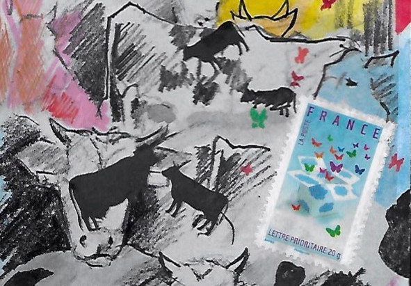Cultures Plein Champ & l'art postal