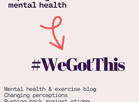 #WeGotThis - No.5 - Exercise & Your Off-Switch