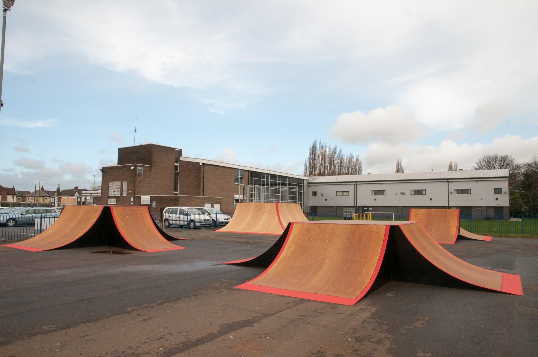 Irlam Skatepark, Manchester
