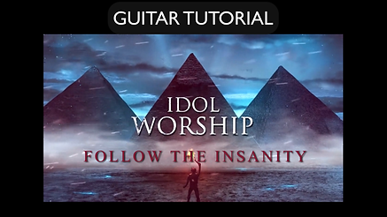 Follow The Insanity Guitar Tutorial
