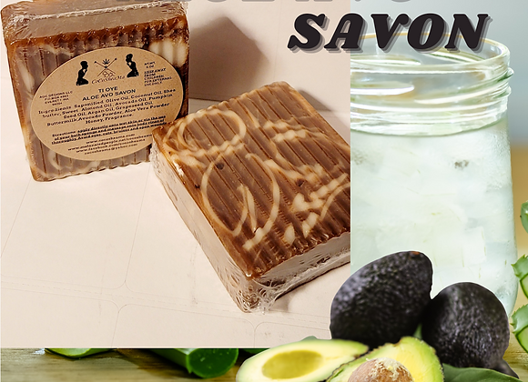 TiOye  Aloe Avo Savon