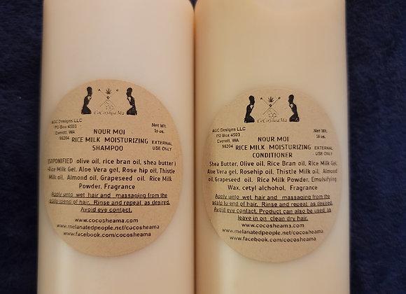 Nour Moi Rice Milk Moisturizing Conditioner 16oz