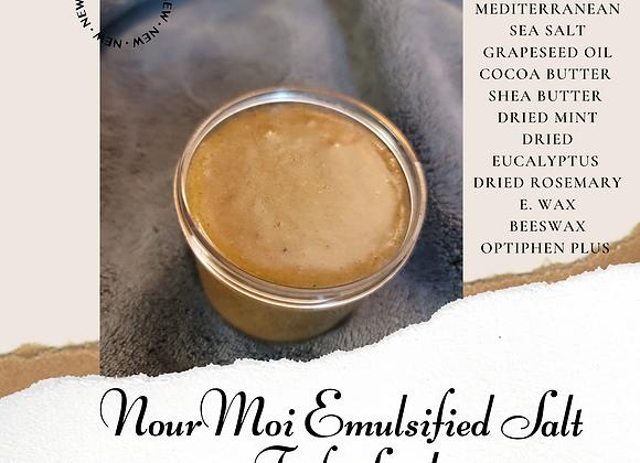 Nour Moi Emulsified Salt Foot Scrub
