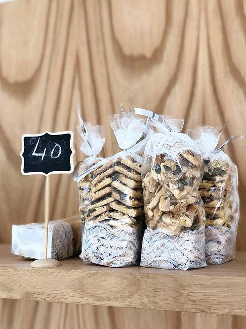 Biscuits salés aux pépites
