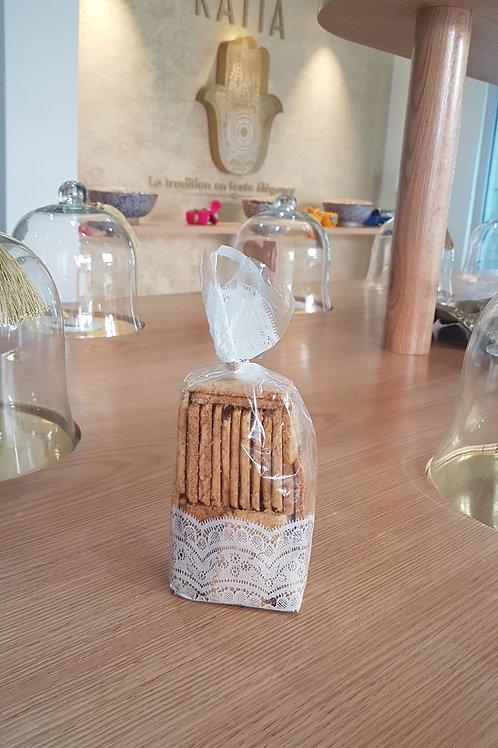 Biscuits son et noix de coco