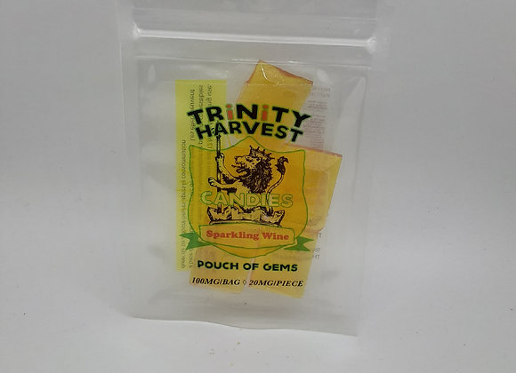 Trinity Harvest 100mg Sparkling Wine THC Candy