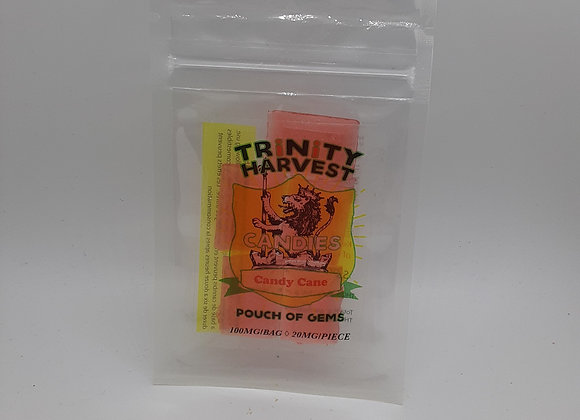 Trinity Harvest 100mg THC Candy Cane Candy