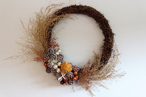 Everlasting Rattan Wreath