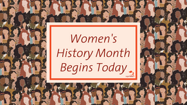 Thoughts at the Onset of Women's History Month