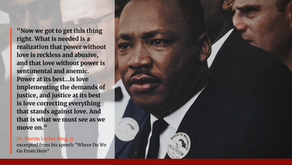 A message on Martin Luther King Jr. Day