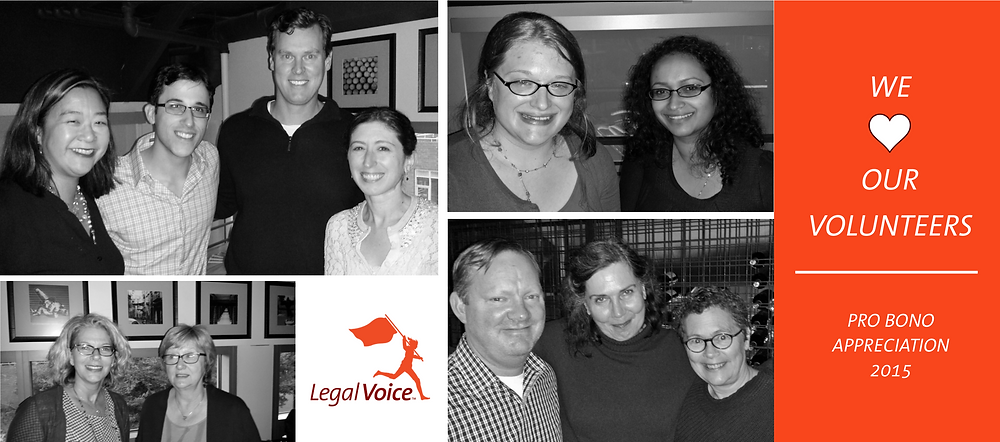 Photos from our Pro Bono Celebration on October 20, 2015.