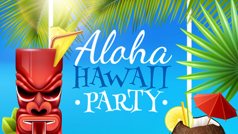 The Town Club End of Summer Party---Hawaiian Luau Style!
